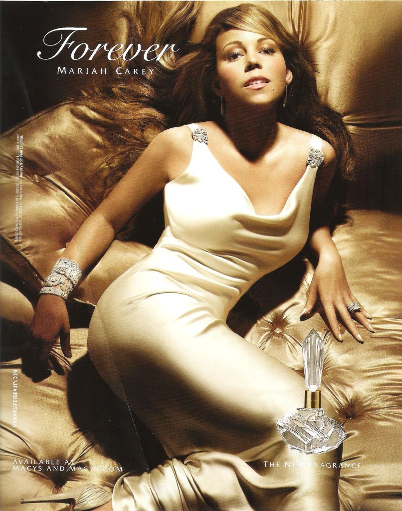 The perfume ad formula visual culture blog for Mariah carey perfume